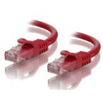 C6-2.5-Red – ALOGIC 2.5m Red CAT6 Network Cable