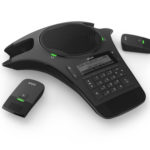 SNOM-C520 – Snom IP Conference Phone, with 2 wireless MIC's
