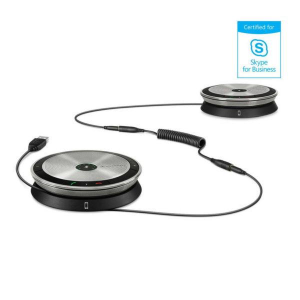 Sennheiser SP 220 MS Portable, Dual Speakerphone Solution