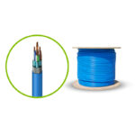 C6ASFTSL305-BU – Serveredge CAT6A 305m Network Cable – SFTP Solid LSZH 23AWG – BLUE