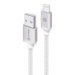 MU28P-02SLV – ALOGIC Prime Lightning to USB Charge & Sync Cable – 2m Silver (Apple Certified under MFi)