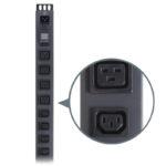 SEDG-20PVM-C13C19-15ACP – Serveredge Basic Metered Vertical 20 Port PDU(16) IEC C13 Output (4) IEC C19 Output (1) IEC C20 input W/ Local Current Monitor & 2m power cable W/ Captive Plug20A240V