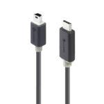 U2-TCMNB01-MM – ALOGIC 1m USB 2.0 USB-C to Mini USB-B – Male to Male – Pro Series