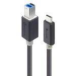 U3-TCB01-MM – ALOGIC USB 3.0 Type-B to Type-C 1m Cable