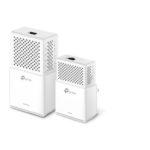 TL-WPA7510 KIT – TP-Link TL-WPA7510-KIT AV1000 1000Mbps Gigabit Powerline AC Wi-Fi Kit 2.4GHz@300Mbps 5GHz@433Mbps 1x1Gbps Port HomePlug WPA7510+PA7010 300m Range