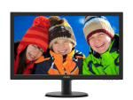 "243V5QHABA – Philips Monitor 24"" 16:9 LED, 243V5QHABA, 1920×1080, Input: VGA/DVI/HDMI , VESA, Speakers , 3YR Wty"