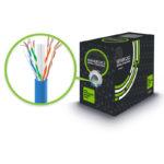 C6UTSTR305-BU – Serveredge CAT6 305m Network Cable – UTP Stranded PVC 23AWG – BLUE