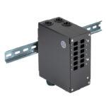 SADFP-12LC-UL – Serveredge Din Rail Mount Enclosure – 12 Port LC Duplex/SC Simplex