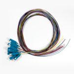 SCPT-OS2-02-12 – Serveredge SC Pigtail OS2-2M-12 Fibres (12 Colour)