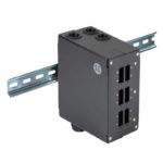 SADFP-6SC-UL – Serveredge Din Rail Mount Enclosure – 6 Port SC Duplex/LC Quad