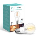 KL50 – TP-Link KL50 Kasa Filament Smart Bulb, Soft White, Edison Screw, Dimmable, No Hub Required, Voice Control, 2700K, 7kWh/1000h, 2.4 GHz, 2 Year Warranty