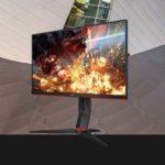24G2 – AOC 23.6′ 1ms IPS 144Hz Full HD Free-Sync, 1x VGA, 2x HDMI 1.4, 1x DP 1.4, Borderless, Height Adjustable Stand