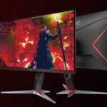 27G2 – AOC 27′ IPS 1ms 144Hz G-Sync, Free-Sync Compatible. HDR, Full HD, Game Mode, 1x VGA, 2x HDMI 1.4, 1x DP 1.4, Height Adjustable Stand.