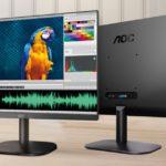 24B2XH – AOC 23.8′ IPS, Low Blue, Flicker Free, Ultra Slim Monitor. VGA, HDMI 1.4. VESA 100 x 100mm