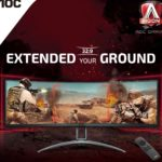 AG493UCX – AOC 49′ Curved 1800R, DQHD 5K 5120 x 1440, VA, Freesync 2, HDR400, 120Hz,1ms, 2H, 2DP, USB-C, Speaker, HAS, Top of Line Gaming Monitor