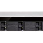 TS-883XU-RP – QNAP TS-883XU-RP 8 Bay NAS Intel® Xeon® E-2124 quad-core 3.3 GHz processor 8GB DDR4 Hot-swappable 4xGE 2x10GbE SFP+ 4xUSB 3.2 2U Rackmount