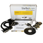 StarTech.com Newer version available PEX8S1050LP: 8 Port PCI Express Low Profile Serial Adapter Card – Serial Adapter – PCIe – RS-232-8 Ports