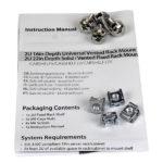 StarTech.com 2U 22in Depth Fixed Rack Mount Shelf – 50lbs / 22kg