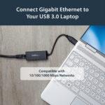 StarTech.com USB 3.0 to Gigabit Ethernet NIC Network Adapter