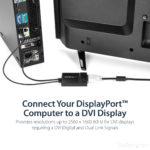 StarTech.com DisplayPort to DVI Dual Link Active Video Adapter Converter – DP to DVI-D – 2560×1600