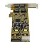 StarTech.com Dual Port PCI Express Gigabit Ethernet PCIe Network Card Adapter – PoE/PSE