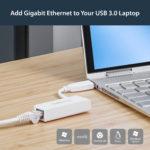 StarTech.com USB 3.0 to Gigabit Ethernet NIC Network Adapter – White