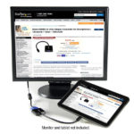 StarTech.com Micro HDMI to VGA Adapter Converter for Smartphones / Ultrabook / Tablet – 1920×1080
