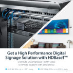 StarTech.com HDMI over CAT5 HDBaseT Extender – Power over Cable – Ultra HD 4K
