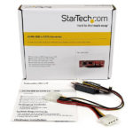 StarTech.com IDE to SATA Hard Drive or Optical Drive Adapter – 40-Pin PATA to 2.5″ SATA HDD/SSD/ODD Converter