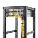StarTech.com 1U Vertical Server Rack Cable Management D-Ring Hook – 1.8×3.9in (4.5x10cm)