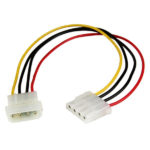 StarTech.com 12in LP4 Power Extension Cable – M/F