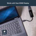 StarTech.com USB 3.0 to HDMI Adapter – Slim Design – 1920×1200