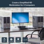 StarTech.com 4 Port USB DisplayPort with Audio