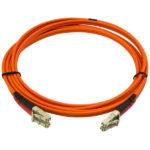 StarTech.com Fiber Optic Cable – Multimode Duplex 50/125 – LSZH – LC/LC – 2 m