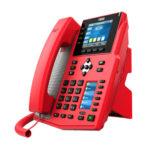 Fanvil X5U-R IP phone Black, Red Wired handset 16 lines Wi-Fi