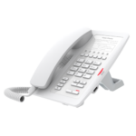 H3-W – Fanvil H3 Hotel IP Phone – No Display, 1 Line, 6 x Programmable Buttons, Dual 10/100 NIC – White