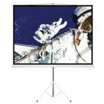 PSDA65 – Brateck 65′ (1.45m x 0.81m) Tripod Portable Projector Screen (16:9 ratio) Black