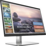 HP E-Series E24t G4 60.5 cm (23.8″) 1920 x 1080 pixels Full HD LCD Black, Silver