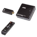 VE819-ATA-U – Aten VanCryst Wireless HDMI Extender (up to 10m, Full HD 1080p, 3D) – 2x HDMI Switch (PROJECT)