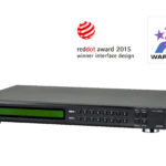 VM5808H-AT-U – Aten Professional Matrix 8×8 HDMI Matrix with Scaler, Seamless Switch, Video Wall, control via front-panel pushbuttons, IR remote and RS232 control